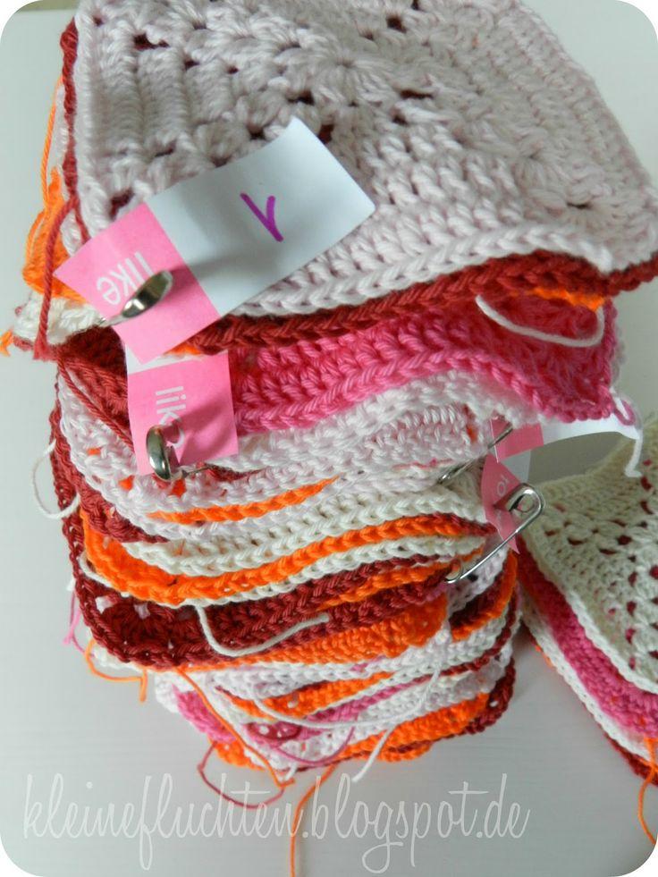kleine fluchten h keldecke link zu anleitung garn und tipps crochet blankets pinterest. Black Bedroom Furniture Sets. Home Design Ideas