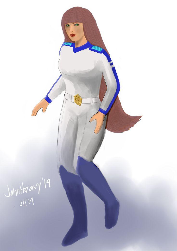 Niko from Galaxy Rangers by JohnHeavy.deviantart.com on @deviantART