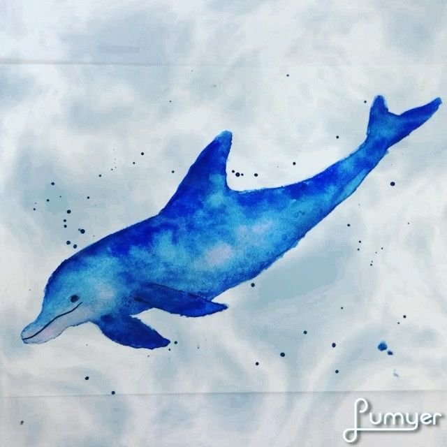 Playing with new app .. look at the underwater effects ! Awesome! 🐬🐬🐬 😄😁😀 #dolphins #sea #handdrawn #art #watercolor #animal #seacreatures #dailyart #communityofchristiancreatives #communityovercompetition #hellodecember #friday #littlethings #instadaily #instaart #handdrawn #underthesea #underwater
