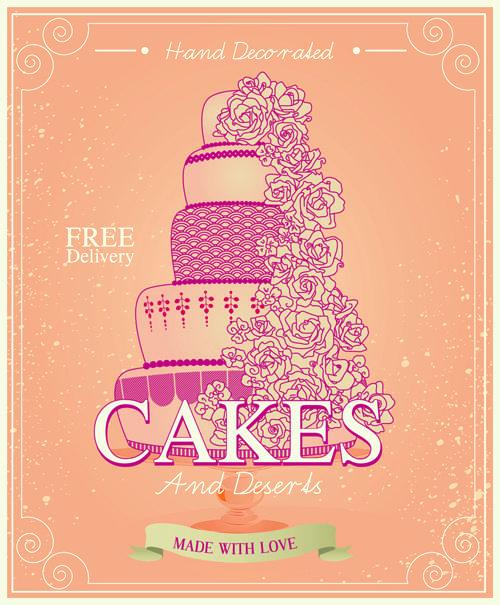 Vintage birthday cake background art vector 02 - https://gooloc.com/vintage-birthday-cake-background-art-vector-02/?utm_source=PN&utm_medium=gooloc77%40gmail.com&utm_campaign=SNAP%2Bfrom%2BGooLoc