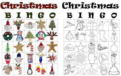Free Christmas Bingo Game Cards to Print - This fun bingo game is perfect to print out and play at a Christmas party or a family get-together.