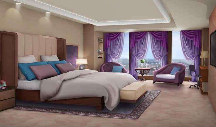 Dorm Bedroom 6 Episode interactive backgrounds, Episode