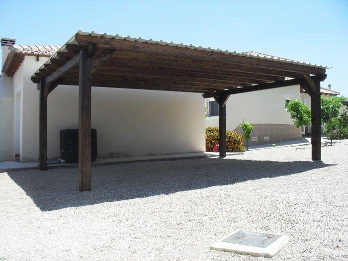 Best Double Timber Carport Campos Del Rio Murcia Landscape 640 x 480