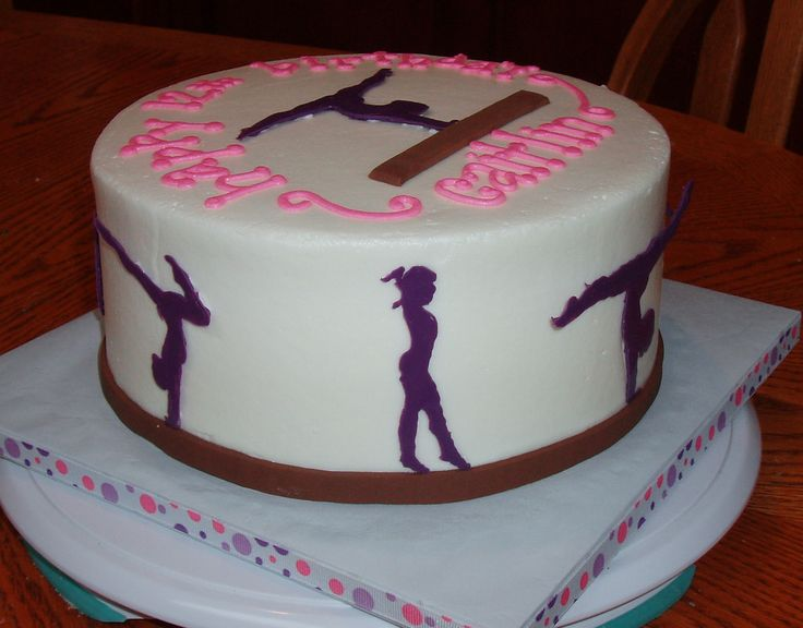 Cake Believe: Gymnastics Girl