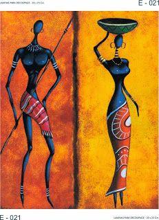 LAMINAS PARA DECOUPAGE DECOPAPER: AFRICA