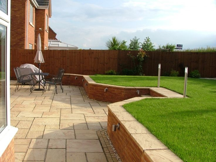 lawn retaining walls - Google Search