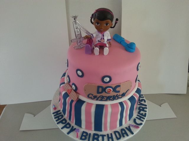 Doc Character Cake By Sheila's Cake Creation in Essex UK
