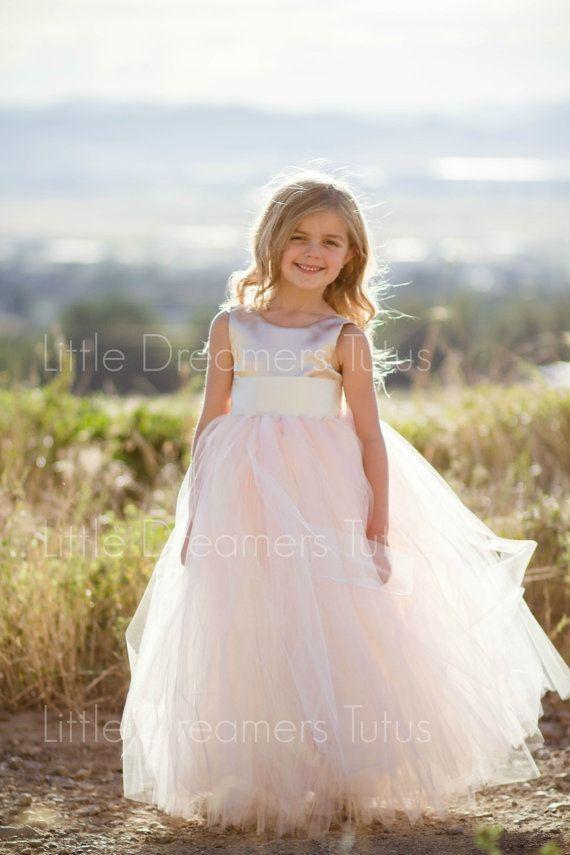 NEW The Juliet Dress in Champagne Blush by littledreamersinc