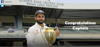Cricket: Virat Kohli  is an Indian international cricketer ...