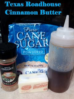 My American Confessions: Thursday: Texas Roadhouse Cinnamon Butter