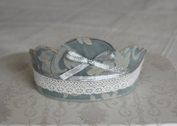 Fabric dressing up crownpretty party hat for girl by Jamberoon