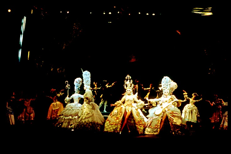 The Loveland Sequence from Stephen Sondheim's Follies - the original Hal Prince production.