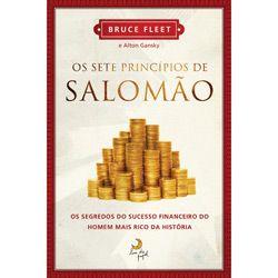 Livro - Sete Princípios de Salomão, Os - Os Segredos do Sucesso Financeiro do Homem Mais Rico da História