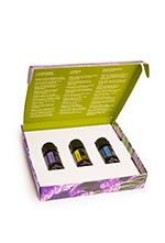 The Introductory Kit (6 Kits) is ideal for anyone who is eager to share with friends and family. These beautifully packaged kits make great gifts and will introduce beginners to the benefits of dōTERRA®'s CPTG Certified Pure Therapeutic Grade essential oils. With 5 mL bottles of Lavender, Lemon, and Peppermint included, beginners will quickly become essential oil enthusiasts after learning how to incorporate these oils into their daily health routine.e.