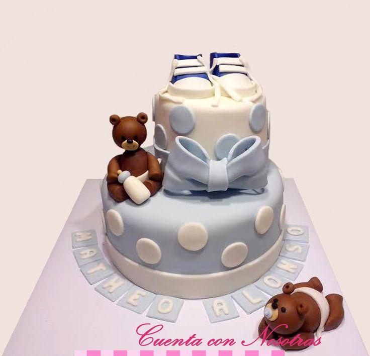 Torta Baby Shower Baby Shower Cake Torta ositos