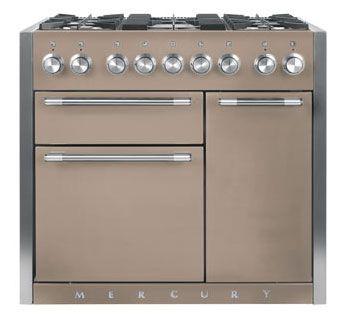 Mercury 1000 Duel Fuel Range Cooker in Truffle