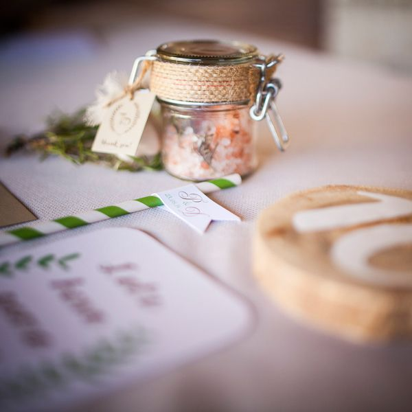 Rustic garden wedding ideas with rosemary | Helena Chaviara RPS Events - Love4Wed