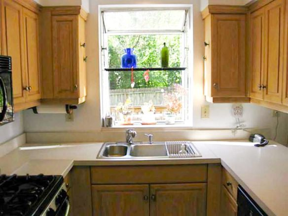 Kitchen Casement Window Over Sink | House Tour: The Entryway And Kitchen |  Glitter U0026