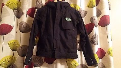 #Ladies black #bonfire #snowboarding jacket size 8,  View more on the LINK: 	http://www.zeppy.io/product/gb/2/172362875902/