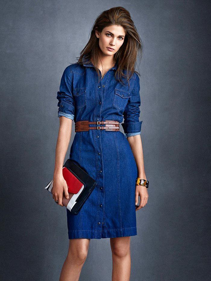 15 джинсовых платьев на все случаи жизни