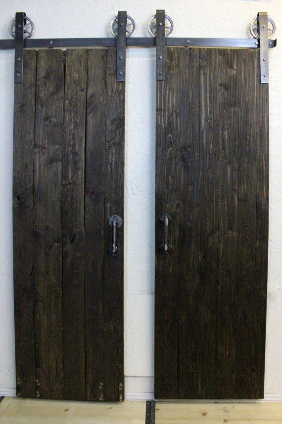 Simple Double door vintage classic sliding barn door von ABAHardware