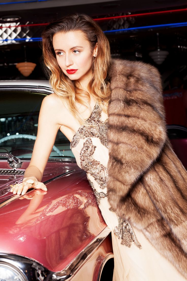 Nataly Osmann for Vogue Russia #braschi #fur #vogue #fashion #style #glamour