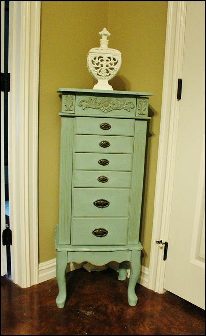 96 best images about chalk paint armoire on pinterest for Juno vintage modern jewelry armoire
