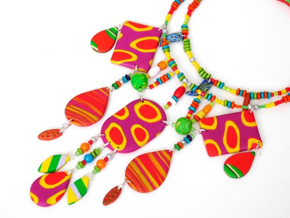 African necklace African Jewelry Tribal Necklace