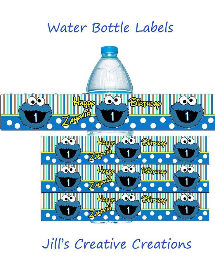 Best Water Bottle Labels Images On   Water Bottle