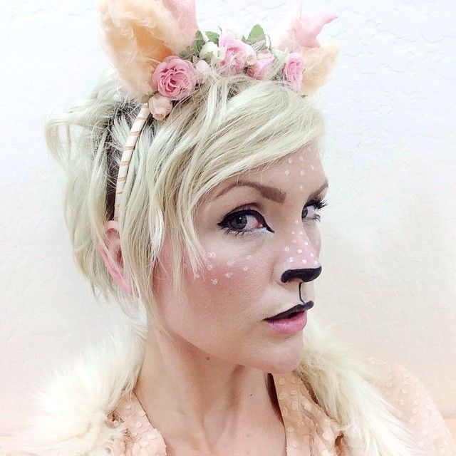 fawn makeup - Google Search                                                                                                                                                                                 Mais