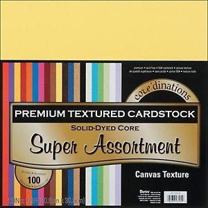 Набор картона 30 х 30 см Core'dinations. Цвета супер-ассорти. - Интернет-магазин «МЕМУАРИС»
