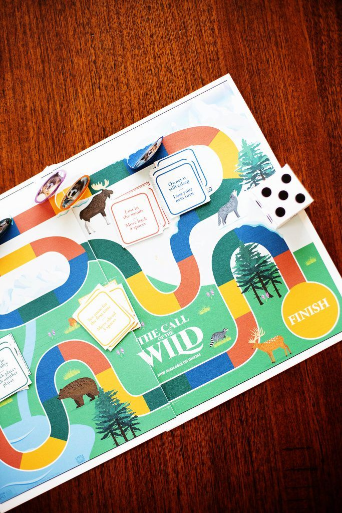 Free Printable Family Board Game Coloring Activity Sheets From Call Of The Wild All For The Boys In 2020 Family Board Games Color Activities Fun Family Activities