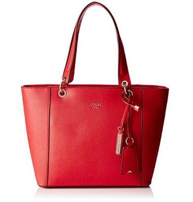 Bolso de mano Guess rojo outlet #bolsos #guess https://www.bolsosbaratosonline.com/bolso-de-mano-guess-rojo-outlet-descuento/
