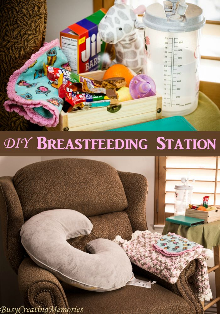 Easy set up Breastfeeding Station essentials AD #TeamJif