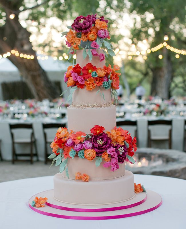 430 Best Images About BRIGHT WEDDING COLORS On Pinterest