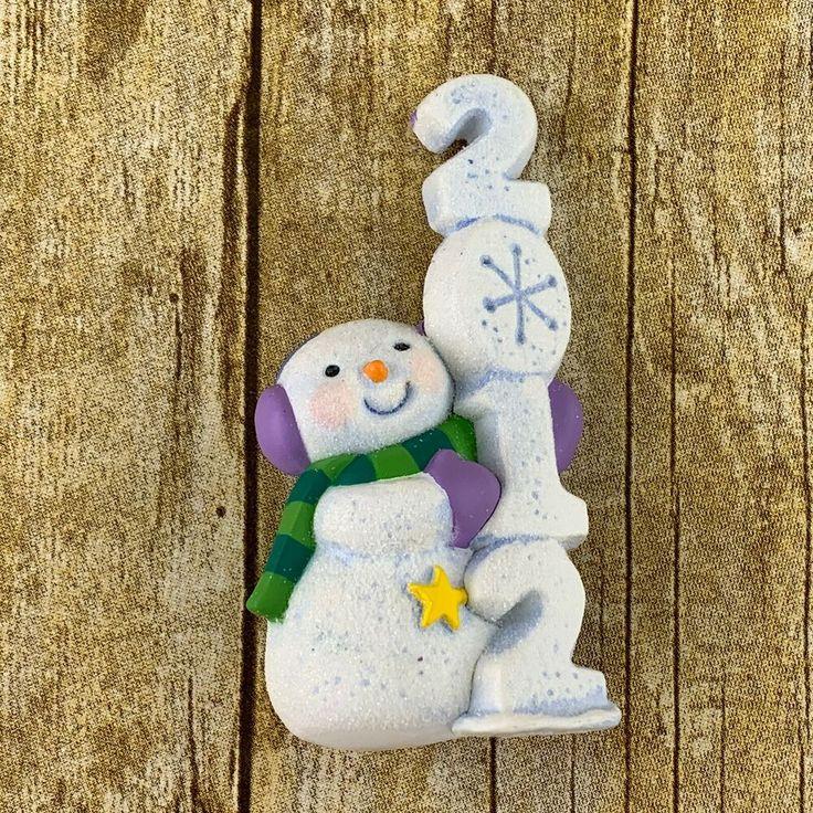 Hallmark Frosty Fun Decade 2012 Ornament 3rd In Series