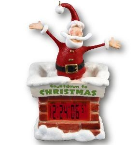Every home needs a countdown to Christmas clock from HallmarkHallmark Ornaments, Christmas Countdown, Christmas Clocks, Clocks Magic, 11 Christmas, Countdown To Christmas, Christmas Ornaments, Christmas Ideas, Countdown Clocks