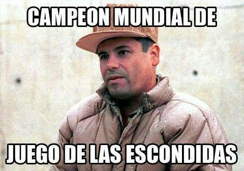 Inmortalizan segunda fuga de 'El Chapo' con memes