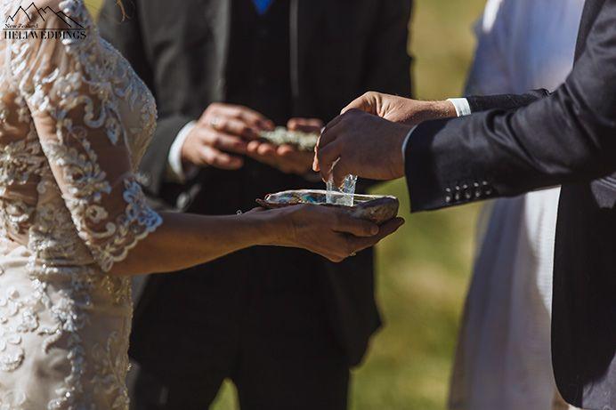 Bride and Groom Details at wedding Queenstown New Zealand