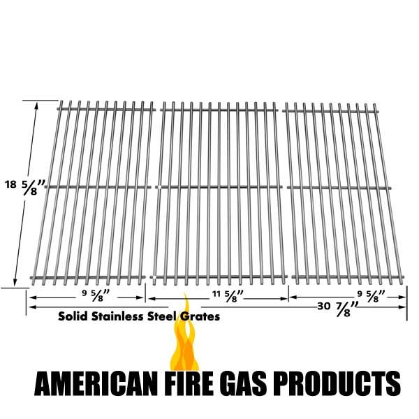3 PACK STAINLESS STEEL COOKING GRID REPLACEMENT FOR ACADEMY SPORTS, KENMORE, MASTER FORGE AND MASTERBUILTS MODELS Fits Compatible Academy Sports Models : BQ05037-2, BQ05046-6A, BQ06042-1, BQ06W06-A Read More @http://www.grillpartszone.com/shopexd.asp?id=33985&sid=34262