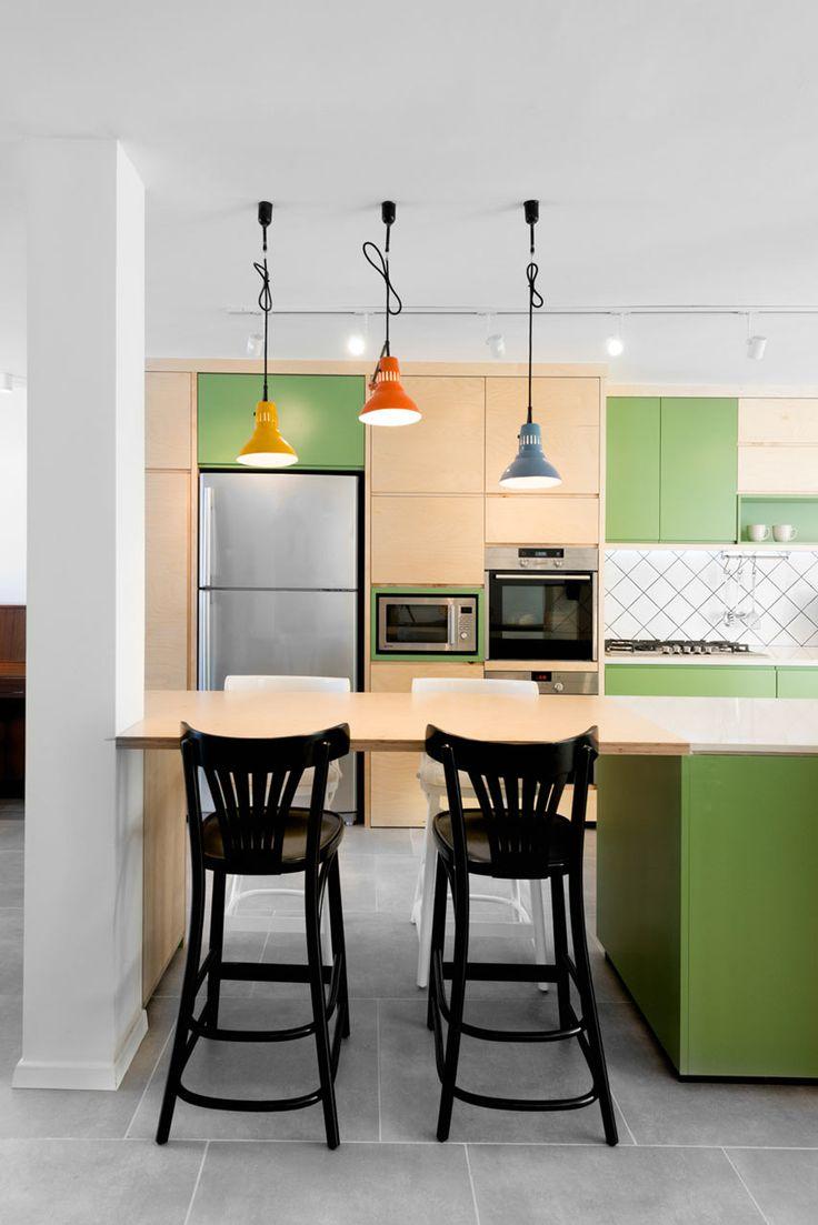 House In Israel Raanan Stern 3. Kitchen InteriorDesign KitchenKitchen WoodKitchen  DiningKitchen IdeasDining ... Part 95