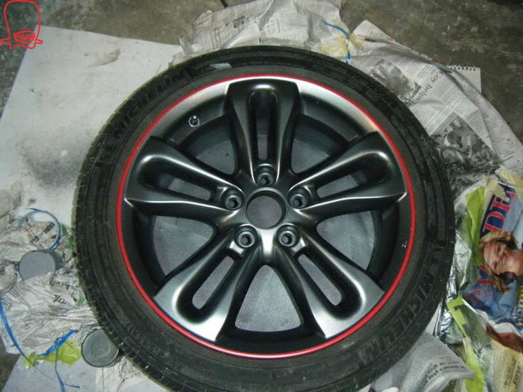 20 best images about my car on pinterest audi a3 vw cc for Diy rim painting