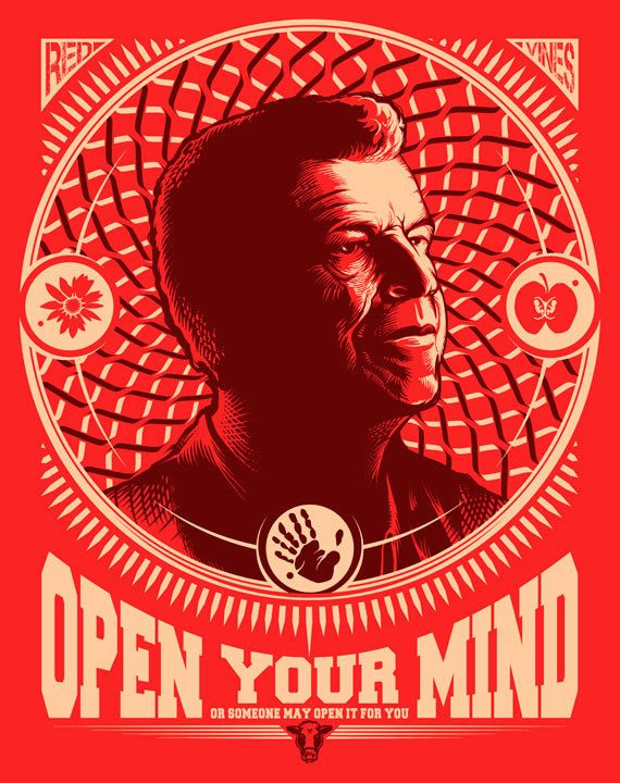 Fringe Print Walter Bishop TV Show quote Poster