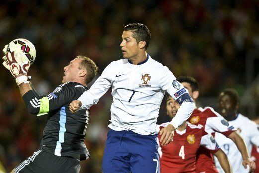 lamiafamilia (MY FAMILY): EURO 2014 : Ronaldo ledak gol tunggal Portugal tew...