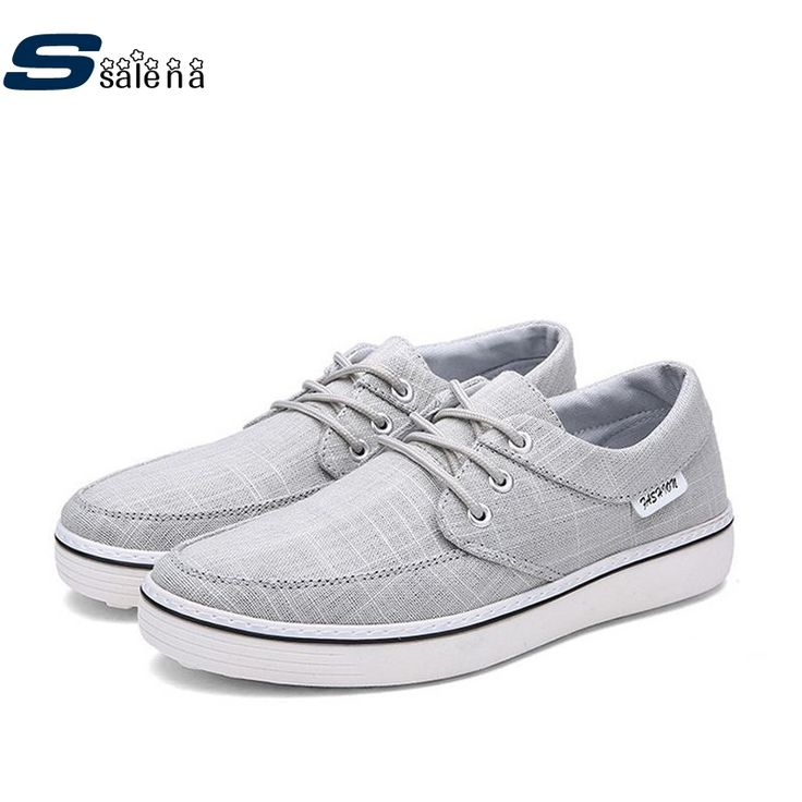 Men Vulcanize Shoes Breathable Mesh Outdoor Summer Canvas Men Casual Shoes Light Brand Trail Shoes AA20057