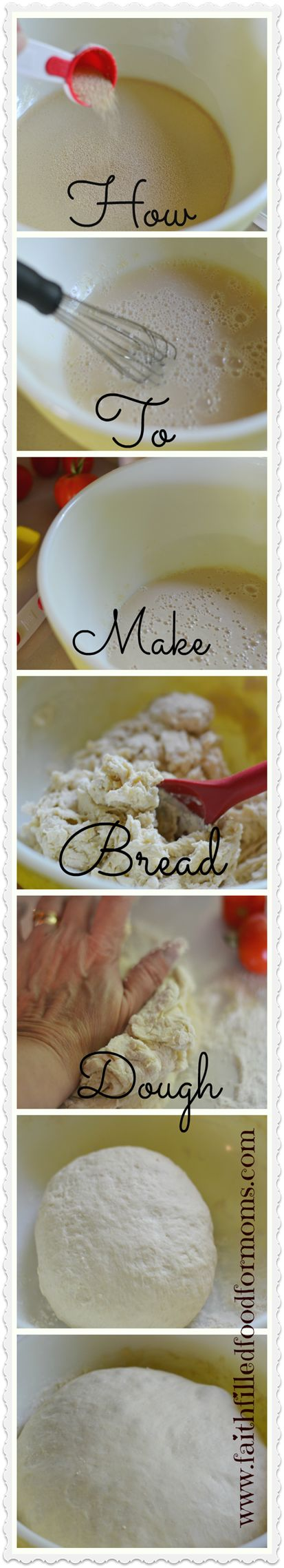 How to Make Bread Dough ~ Make a ton of recipes with this one simple bread dough!