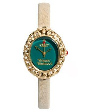 Image 1 ofVivienne Westwood Mini Leather Strap Watch