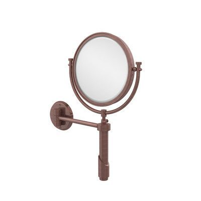 Allied Brass Universal Extendable Mirror Magnification: 2x, Finish: Antique Copper