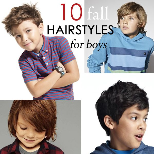10 Fall Hairstyles For Boys~ so cute! can't wait to see my baby's style. #parentaladvisorylockupyourdaughters