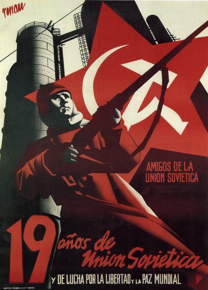 Friends of Soviet Union, ca.1936-1939    Spanish civil war